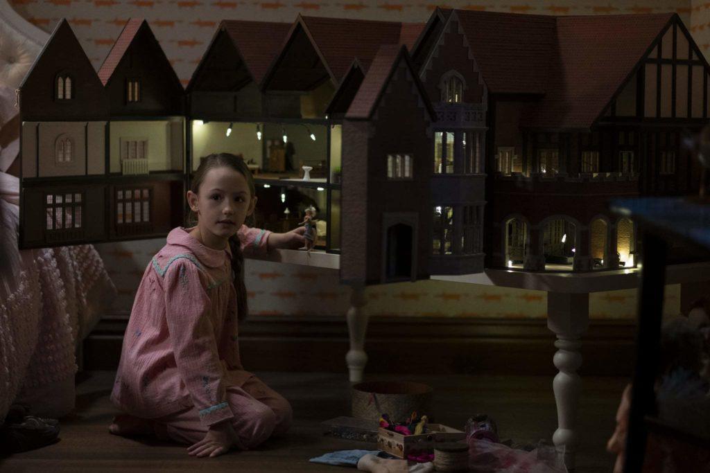 casa de muñecas de la mansión de Bly Manor